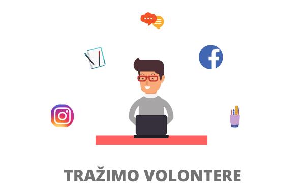 Tražimo volontere